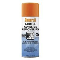 Ambersil Label & Adhesive Remover FG 200ml - Box of 12 (30254)