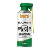 Ambersil Silicone FG Lubricant 400ml - Box of 12 (30248)