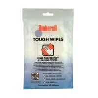 Ambersil Tough Wipes - 30 Wipes