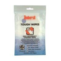 Ambersil Tough Wipes - 30 Wipes (Pack of 12)