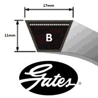 B114 Gates Delta Classic V Belt (Please enquire fo...