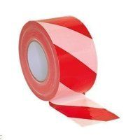 BTRW Sealey Red/White Non-Adhesive Hazard Warning ...