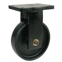 BZQF200PTBJ 200mm Brown Poly on Cast Iron Heavy Du...