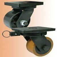 BZQXX250PTBJ Brown Poly on Cast Iron Swivel Unbrak...