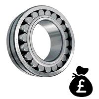 22217E-2RS Budget Sealed Spherical Roller Bearing