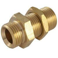MB12 1/2inch BSPP Male Thread Bulkhead Connector