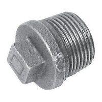 C146-114 1.1/4inch BSPT Crane Solid Plugs, Fig. 146 - Galvanised