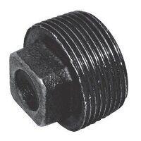 C148-2N 2inch BSPT Crane Plain Solid Plugs, Fig. 148 - Black