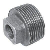 C148-38 3/8inch BSPT Crane Plain Solid Plugs, Fig. 148 - Galvanised