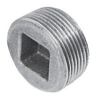 C149-112 1.1/2inch BSPT Crane Plugs Countersunk, Fig. 149 - Galvanised