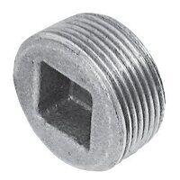 C149-114 1.1/4inch BSPT Crane Plugs Countersunk, Fig. 149 - Galvanised
