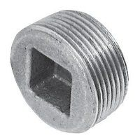 C149-34 3/4inch BSPT Crane Plugs Countersunk, Fig. 149 - Galvanised