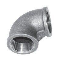 C151-112 1.1/2inch BSP Crane  Equal 90° Elbows, Fig. 151 - Galvanised