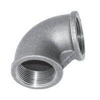 C151-212 2.1/2inch BSP Crane  Equal 90° Elbows, Fig. 151 - Galvanised