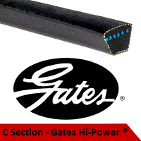 C190 Gates Hi-Power V Belt (Please enquire for product availability/lead time)