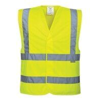 C470YERL/XL Portwest Hi Vis Vest Yellow ...