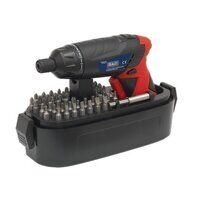 CP36S Sealey 53pc 3.6V Lithium-ion Cordless Screwdriver Set