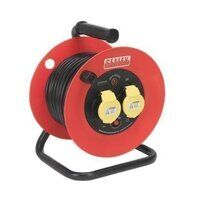 CR12515 Sealey 25mtr 2 x 110V 1.5mm² Heavy-Duty Th...