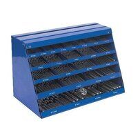 DBFGSET Sealey 250pc HSS Fully Ground Drill Bit Counter Top Dispenser