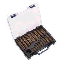 DBS170CB Sealey 170pc 1-10mm HSS Cobalt Fully Grou...