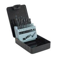 DBS19RF Sealey 19pc 1-10mm HSS Roll Forged Drill B...