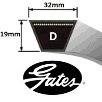 D Section Gates Delta V Belt