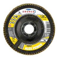 Dronco Alox Power 115mm x 22.23mm Flap Disc - 60 G...