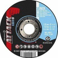 Dronco Attack 115mm x 1.0mm Inox Cutting Discs (Pa...