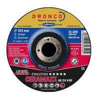 Dronco Ceramaxx Evolution 180mm x 7mm Grinding Discs (Pack of 10)