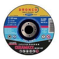 Dronco Ceremaxx Evolution 125mm x 1.2mm Cutting Discs (Pack of 25)