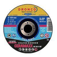 Dronco Ceremaxx Evolution 125mm x 1.2mm Cutting Di...