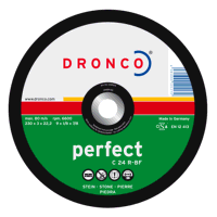 Dronco Perfect 230mm x 3mm Stone Cutting Discs (Pack of 25)