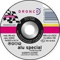 Dronco Superior 125mm x 1.2mm Aluminium Cutting Disc (Pack of 25)
