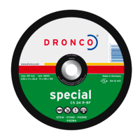 Dronco Superior 180mm x 6.4mm Stone Grinding Disc ...