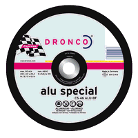 Dronco Superior 230mm x 1.9mm Aluminium Cutting Disc (Pack of 25)