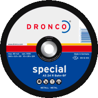 Dronco Superior 350mm x 4mm Rail Blades (Pack of 1...