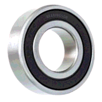 6201-1/2-2RS Budget Sealed Ball Bearing 1/2inch x ...
