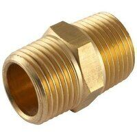 660-1313 1/4inch NPTF x 1/4inch BSPT Male Equal Threaded Adaptor