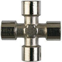 FC13 1/4 inch BSP Female Cross Threaded Adaptor