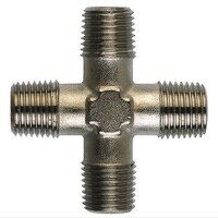 FE13 1/4inch BSPT Equal Male Cross