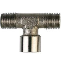 TC10 1/8inch BSP Male x Female x Male Threaded Adapter