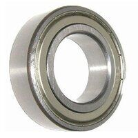 F601X-2Z Flanged Shielded Miniature Ball Bearing 1.5mm x 6mm x 3mm