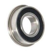 F608-2RS Flanged Sealed Miniature Ball Bearing