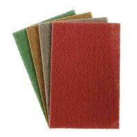FHPMAROON 150mm x 230mm Medium Non-woven Hand Pad (Pack of 10)