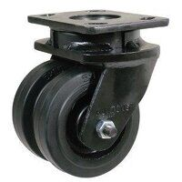 Fabricated Black Painted Steel Housing Only (Double Wheel...