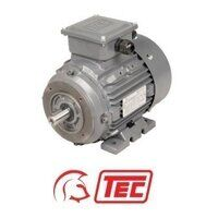TEC IE1 Electric Motor 75kW 3ph 8 Pole B14 Face Mo...