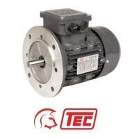 TEC IE2 Electric Motor 0.75kW 3ph 4 Pole B5 Flange...