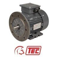 TEC IE2 Electric Motor 3kW 3ph 4 Pole B5 Flange Mo...