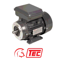 TEC Electric Motor 1.5kW 1ph Cap/Cap 110V 2 Pole F...