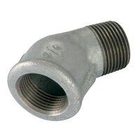 GF121-212 2.1/2inch BSP George Fisher  Equal 45° E...